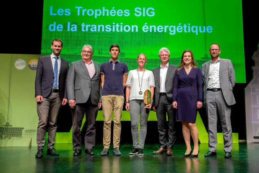 Trophée SIG-Eco21 du meilleur chauffagiste 2018